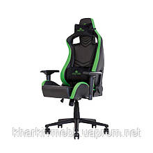 Кресло геймерское HEXTER PRO R4D TILT MB70 ECO/01 BLACK/BLUE