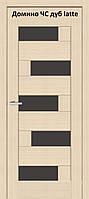 Дверь межкомнатная Омис Домино ЧС ПО, разные цвета
