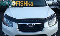 Мухобійка VIP Hyundai Santa Fe 2007-2012