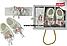 Пінетки+пов'язка, Туреччина, Babexi, рр. 3-6 міс, арт. 5150,, фото 4