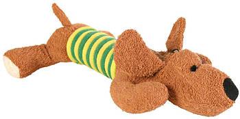 Игрушка для собак trixie собака тканевая 28 см