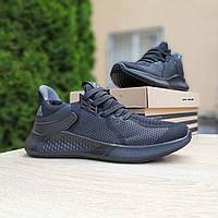 Мужские кроссовки в стиле Adidas черные, фото 1