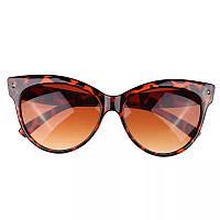 Очки солнцезащитные Bananahall Cat Eye Леопардовые (bnnhll4152)