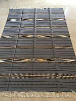 Килим шерстяний гуцульський покривало на диван ручної роботи 200*144 см