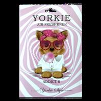 Ароматизатор в авто/гардероб парфюмированный Yorkie Style ADDICT II Dior