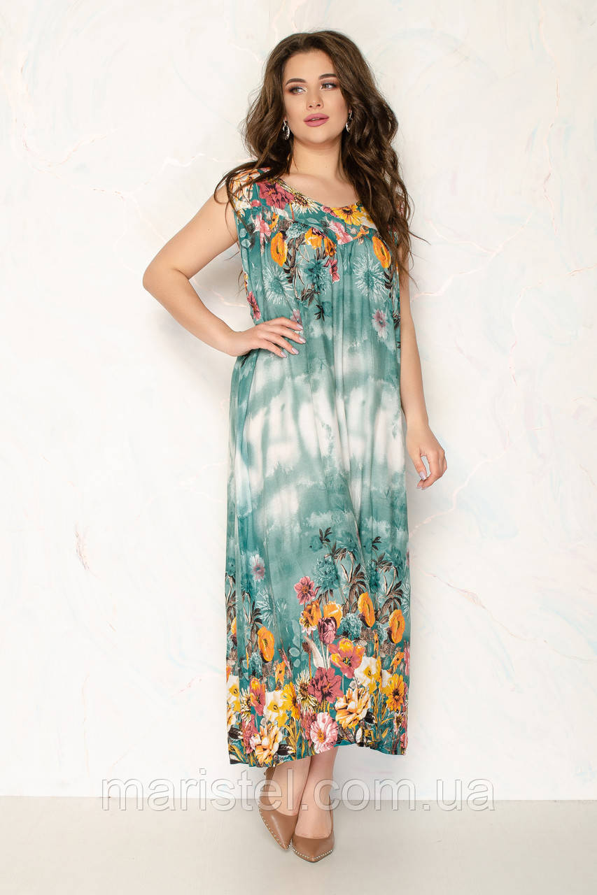 Женское летнее платье 1710-4