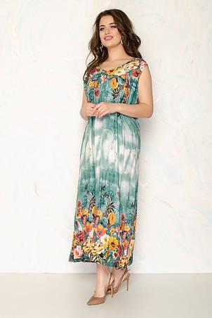 Женское летнее платье 1710-4, фото 2