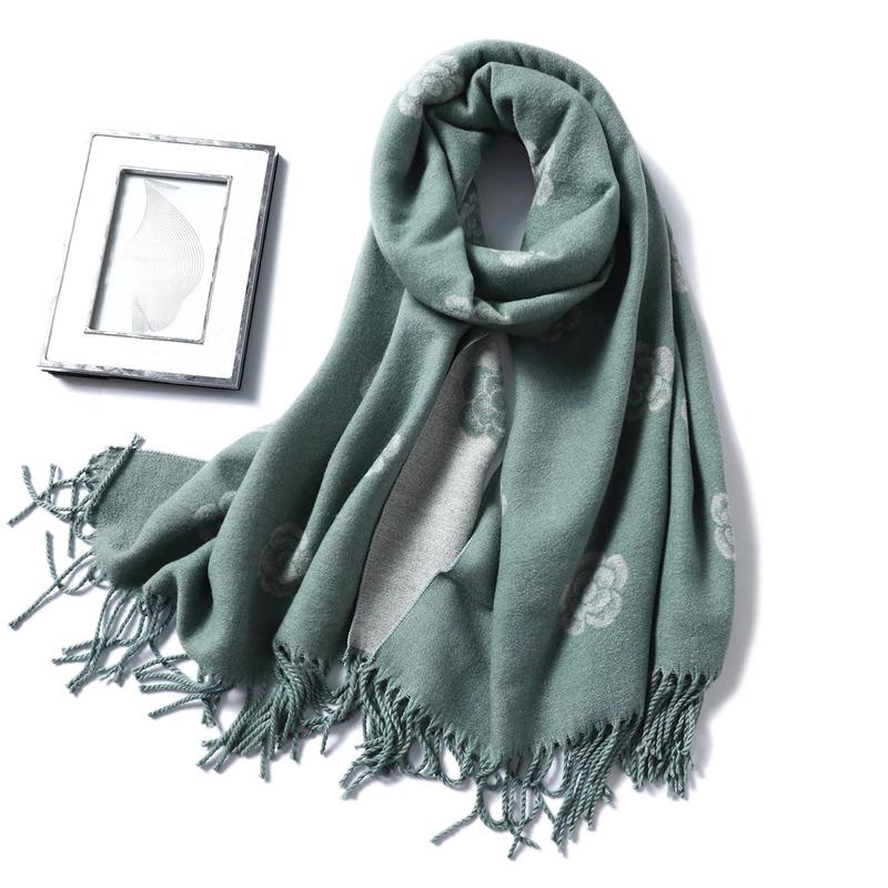 Женский шарф. Осень Зима, 12 расцветок.