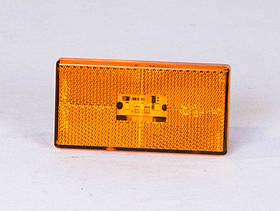 Световозвращатель (катафот) заднего бампера красный Н.О. (клипса) ГАЗ 2217,2705 (покупной ГАЗ) (арт. 56.3731000)