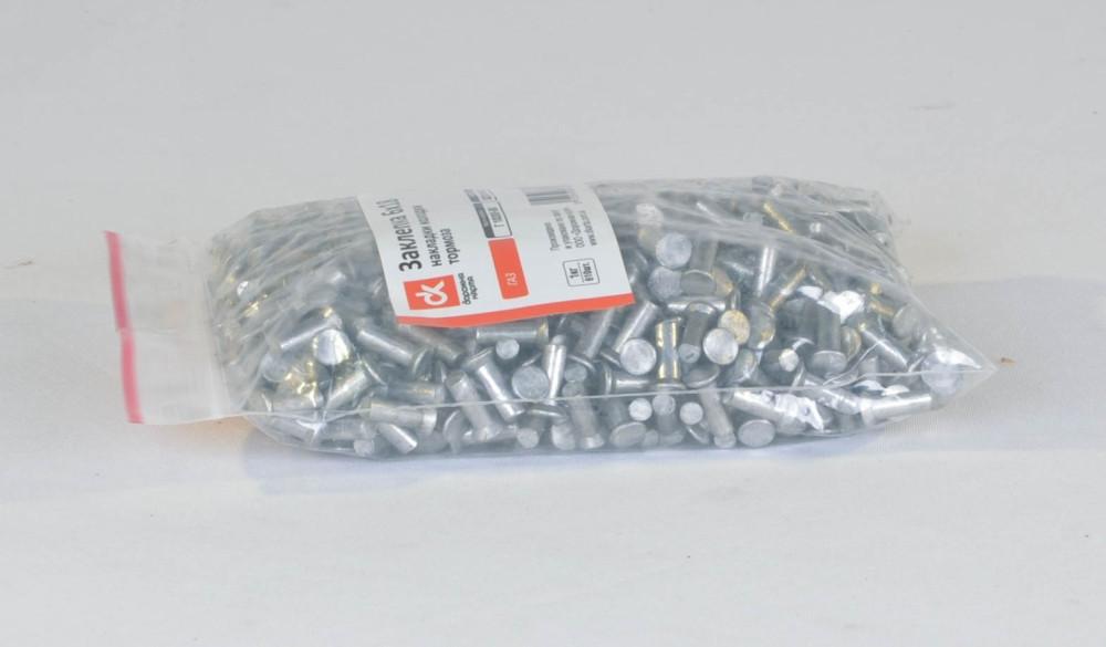 Заклепка 6х18 накладки колодки гальма ГАЗ (1кг=610шт) (арт. Р 10300-80)