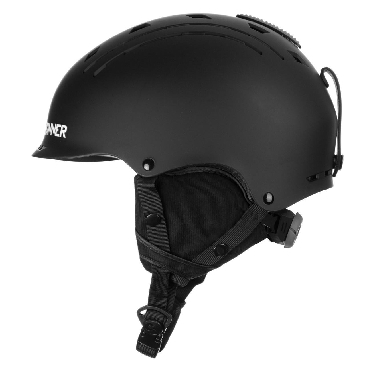 Шолом гірськолижний Sinner Pincher XS Matte Black (SIHE-136-10Z-54)