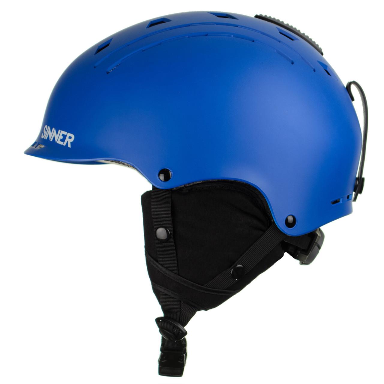 Шолом гірськолижний Sinner Pincher XS Matte Bright Blue (SIHE-136-50Z-54)