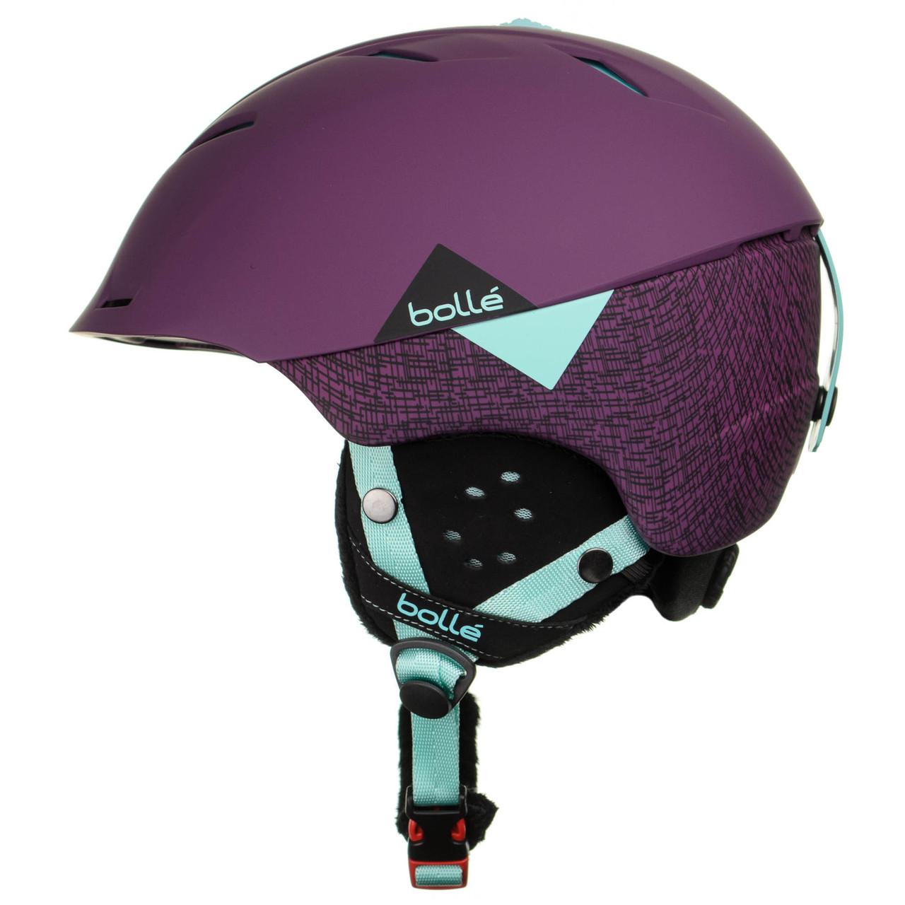 Шолом гірськолижний Bolle Synergy L Violet (31480)