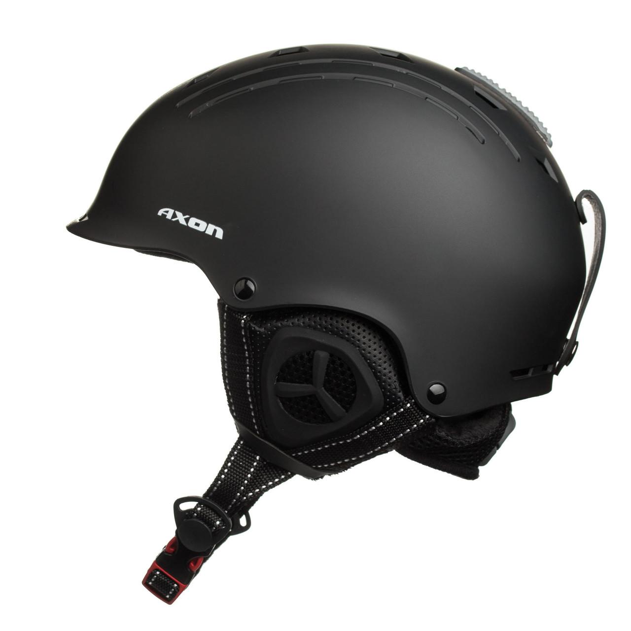 Шолом гірськолижний Axon M713303 Patrol L-XL Black