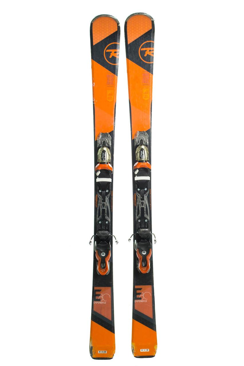 Лижі гірські Rossignol Experience E80 144 Black-Orange Б/У