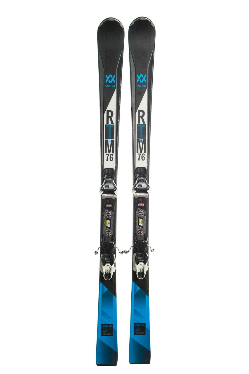 Лижі гірські Volkl RTM76 161 Black-Blue Б/У