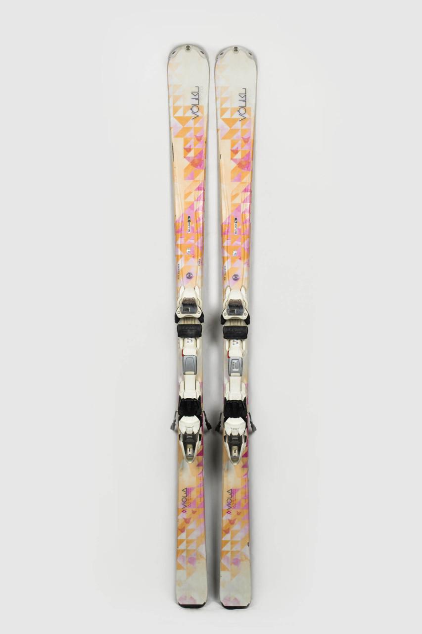 Гірські лижі Volkl Viola 162 Б/У