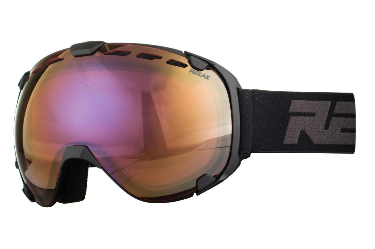 Маска гірськолижна Relax Dragonfly HTG56C Black