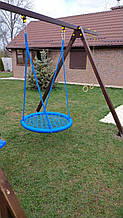 """Качели """"гнездо аиста"""", синяя, 100см"""
