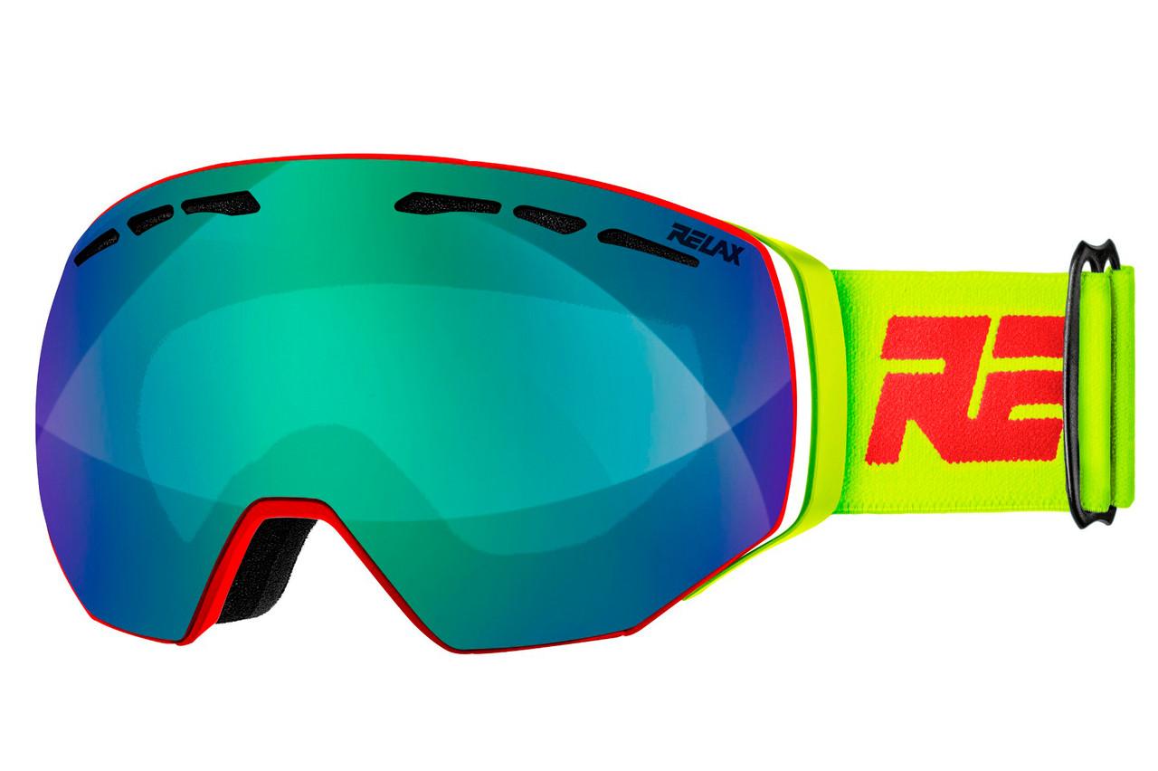 Маска гірськолижна Relax Ranger HTG48A Red-Yellow