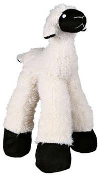 Игрушка для собак trixie овечка плюшевая 30 см