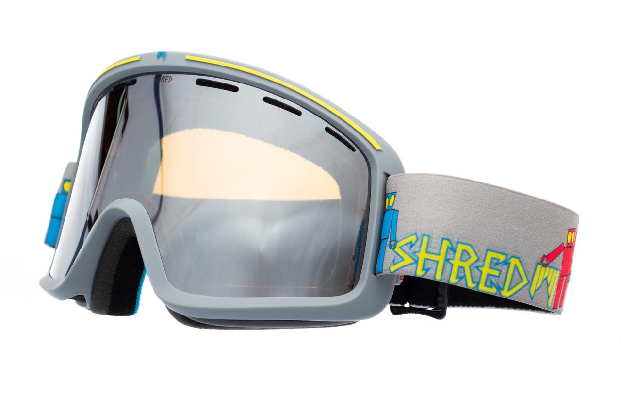 Маска гірськолижна Shred Monocle Robot Boogie Grey
