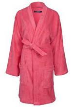 Халат махровий домашній ніжного рожевого кольору, Mexx Living Robe L/XL .