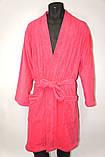 Халат махровый домашний нежного розового цвета, Mexx Living Robe L/XL ., фото 3