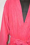 Халат махровый домашний нежного розового цвета, Mexx Living Robe L/XL ., фото 5