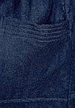 Халат махровый (синий) Tom Tailor XS, фото 3