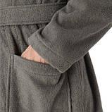 Халат темно сірий махровий, Polo Ralph Lauren L/XL, фото 4