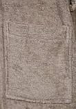 Халат средней длины бежевого цвета, Calando S, фото 4
