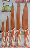 Набор металлических  ножей Family Kitchen B1019 5pcs, фото 2