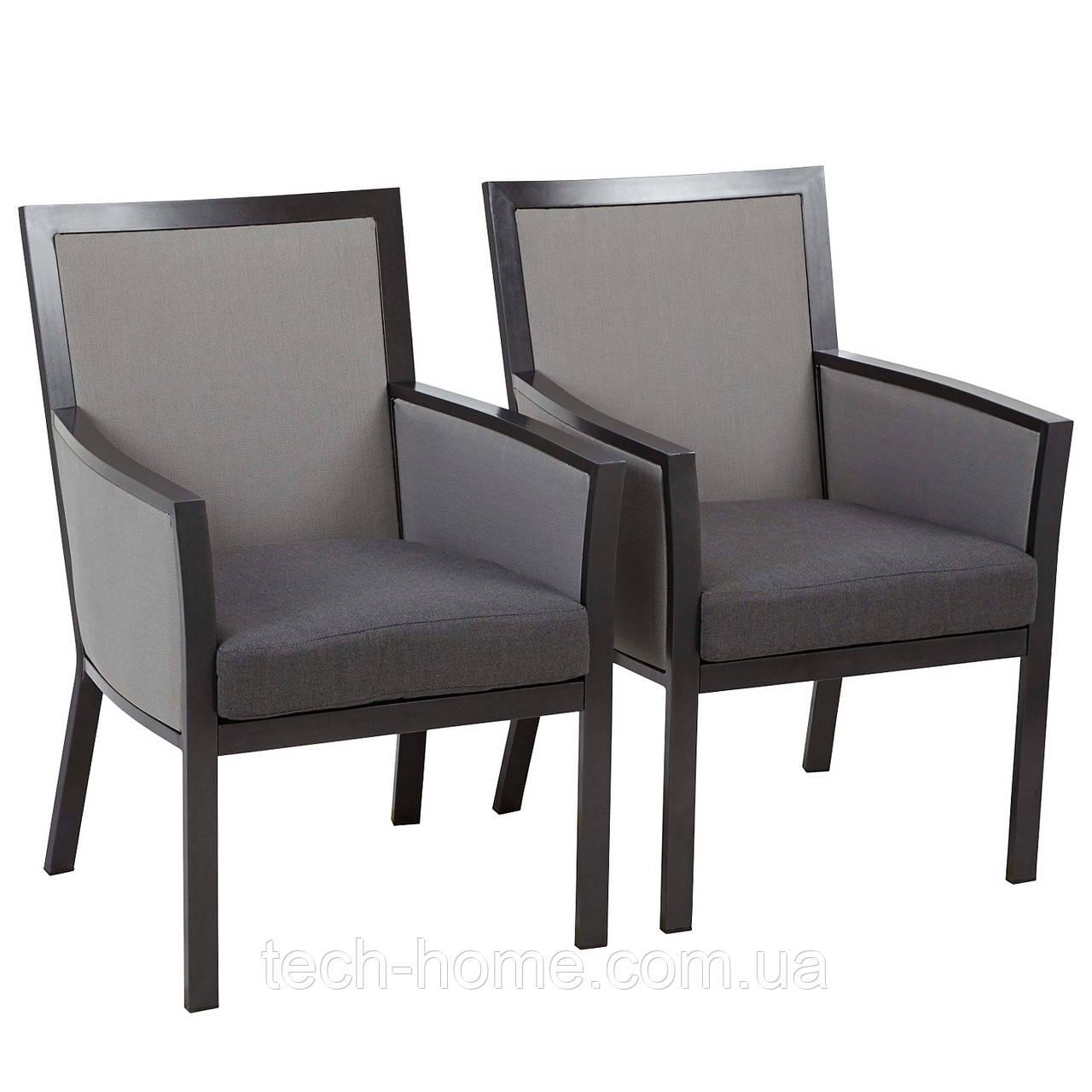 Набір стільців George Home Grace Dining Chairs in Black & Grey