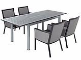 Набір стільців George Home Grace Dining Chairs in Black & Grey, фото 4