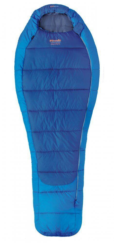 Спальний мішок Pinguin Comfort 185 Blue Left Zip