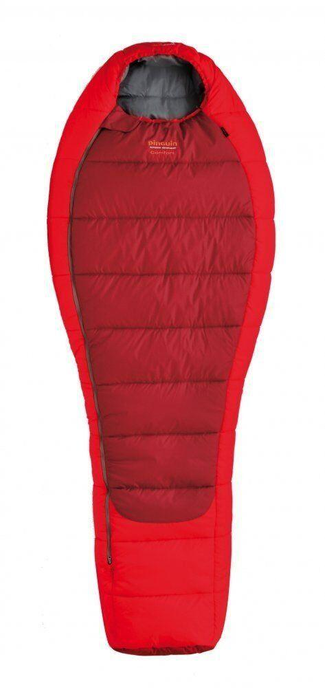 Спальний мішок Pinguin Comfort 185 Red Left Zip