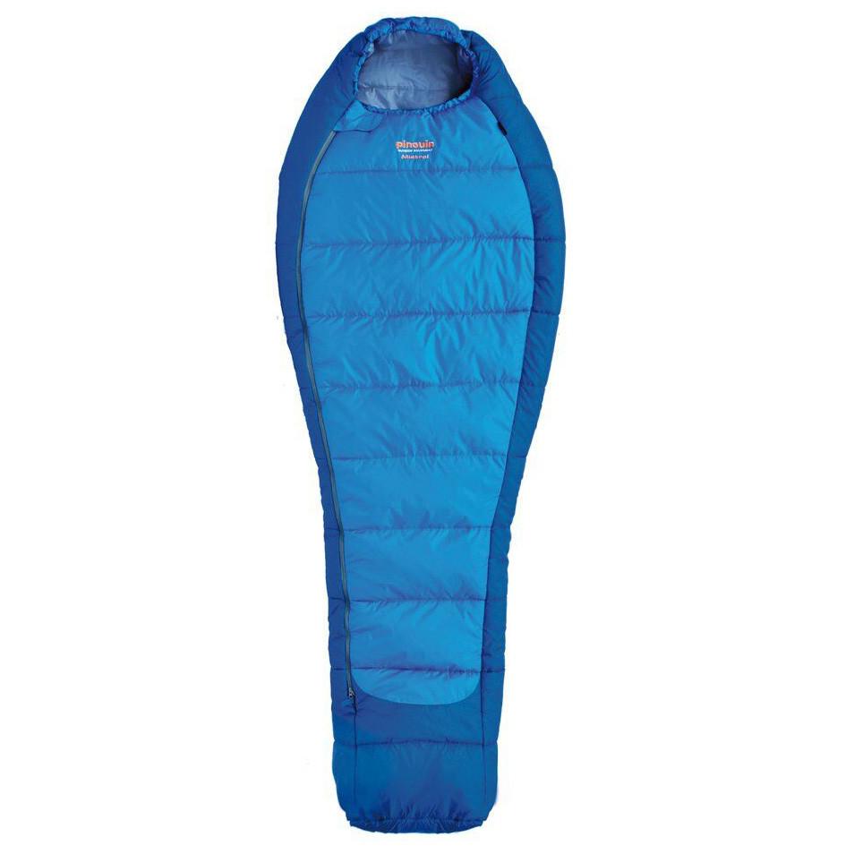 Спальний мішок Pinguin Mistral 185 Blue Right Zip