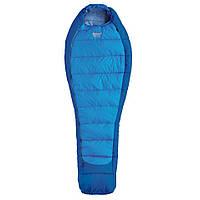 Спальний мішок Pinguin Mistral 185 Blue Right Zip, фото 1