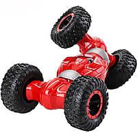 Машинка трансформер на радиоуправлении JZL Stunt Twist 4WD Красная