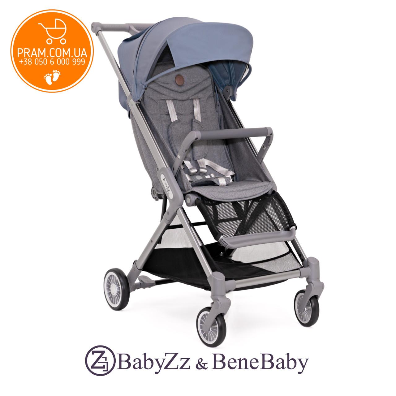 BABYZZ & BENE BABY PRIME прогулочная коляска Голубой