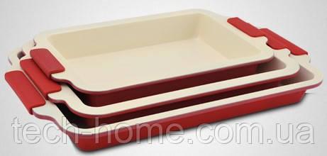 Набор форм для выпечки Royalty Line RL-CC3 RED