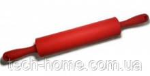 Скалка силиконовая красная B1332