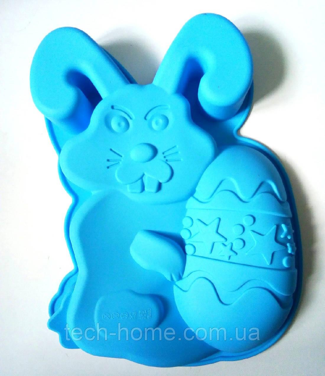 Силіконова форма для випікання кролика Hua You B1217