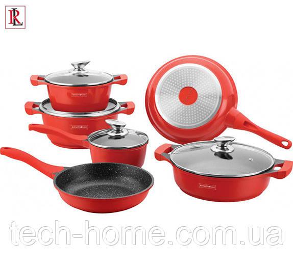Набор посуды Royalty Line RL-BS1010M RED