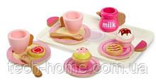 Набор деревянной посуды Little Tikes Wooden Tea Set 14st