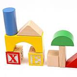 Деревянный конструктор ASDA Play & Learn 70 Piece Wooden Blocks, фото 2