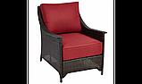Набор садовой мебели Sumatra 3 Piece Conversation Sofa Set - Chilli Red, фото 3