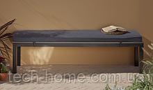 Лавка Grace Classic Bench - Black & Grey.
