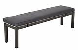 Лавка Grace Classic Bench - Black & Grey., фото 2